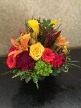 Brighter Day Square Vase