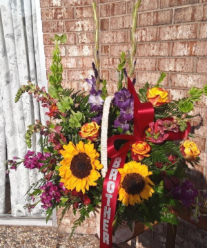 Brighter Days Floral Basket in College Station, TX | UNIVERSITY FLOWERS & GIFTS