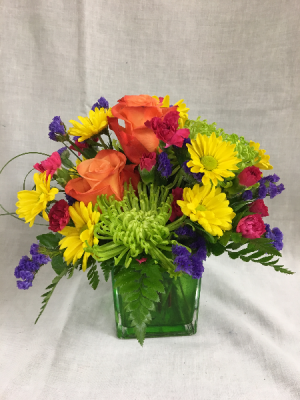 Brightest Blessings Arrangement in Cherokee, IA | Blooming House