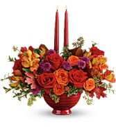 BRIGHTEST BOUNTY CENTERPIECE FALL