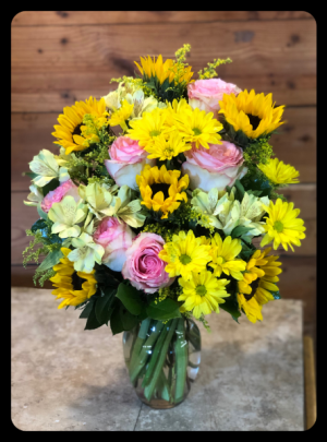 Brightest Day Bouquet  in Bryan, TX | NAN'S BLOSSOM SHOP