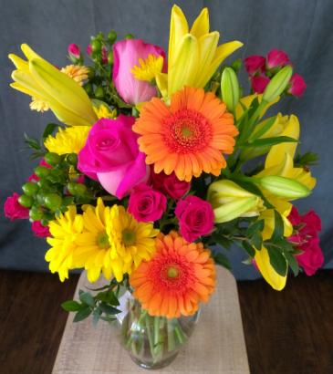 brightest summer day in vase