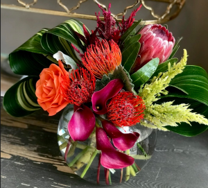 Brightly-colored tropicals Brightly-colored tropicals in Bartlett, TN | BARTLETT FLORIST