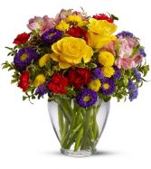 Brightness of the day Flower Arrangement