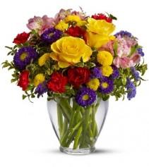 Brightness of the day Flower Arrangement