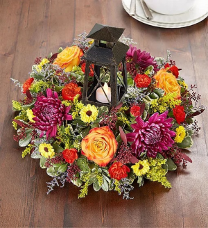 Brilliant Autumn™ Centerpiece in Croton On Hudson, NY | Cooke's Little Shoppe Of Flowers