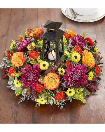 brilliant autumn centerpiece fall arrangement
