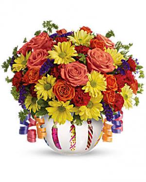 Brilliant Birthday Blooms  in Stafford, VA | Peg's Florist