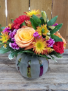 Brilliant Birthday Blooms Colorful Mix