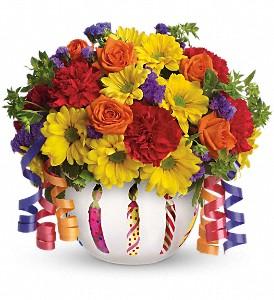 Brilliant Birthday Blooms   T28-1A