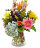 Brilliant Blossoms Arrangement