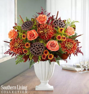 Brilliant Bronze Medley by Southern Living® Arrangement in Croton On Hudson, NY | Cooke's Little Shoppe Of Flowers