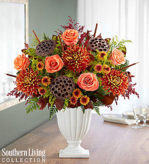 Brilliant Bronze Medley by Southern Living Fall flowers in Orlando, FL | Artistic East Orlando Florist