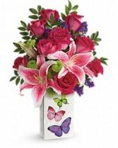 Brilliant Butterflies Bouquet