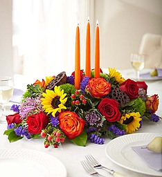 Brilliant Celebrations  Thanksgiving Centerpiece in Fair Lawn, NJ | DIETCH'S FLORIST