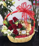 Brilliant Love  Gift Basket