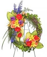 Brilliant Sympathy Wreath  Wreath