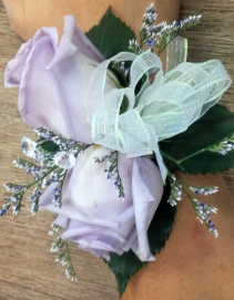 BRING ON THE BLING CORSAGE
