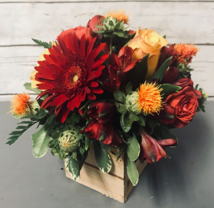 Bring on the Fall Arrangement