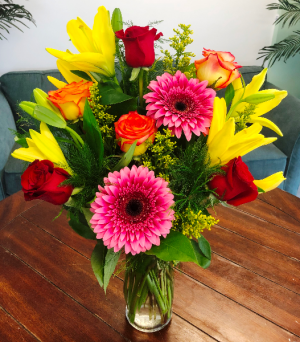 Bring on the Happy Arrangement in Bluffton, SC | BERKELEY FLOWERS & GIFTS