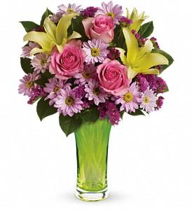 Bring on the Spring Vase arrangement