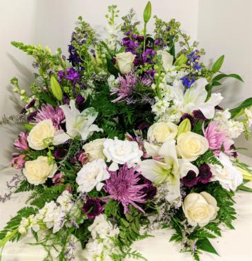 Bring the Comfort Urn Sympathy Wreath