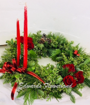 British Wreath Holiday in Fort Morgan, CO | Edwards Flowerland