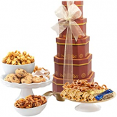 Broadway Basketeers Gift Tower of Sweets LARGE FATHERS DAY SNACKS