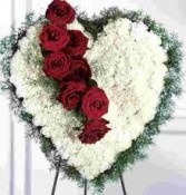 BROKEN HEART Funeral Flowers