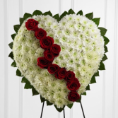 Broken Heart Funeral Spray