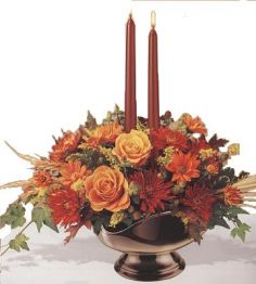Bronze Elegance Fall Arrangement in Sacramento, CA | A VANITY FAIR FLORIST