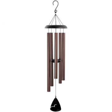 "Bronze Fleck Signature Series 44"" Wind Chime Gifts"