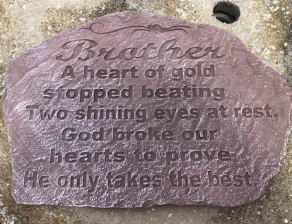 Brother sympathy stone