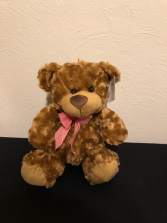 Red Bowtie Bear Stuffed Plush