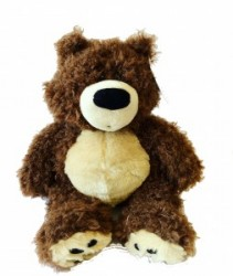 Brown Teddy Bear  3C Floral Collection