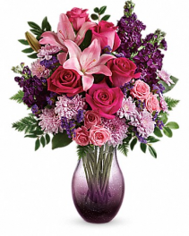 Bubble Purple Arrangement