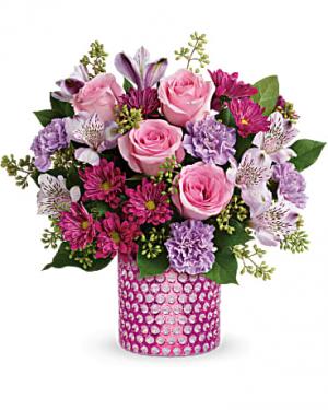 Bubbling Over Bouquet in Jasper, TX   BOBBIE'S BOKAY FLORIST