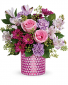 Bubbling over with spring Beautiful vibrant spring arrangement