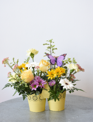 Bucket of Blooms  in La Grande, OR   FITZGERALD FLOWERS