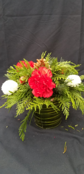 Bucket of Christmas Arrangement