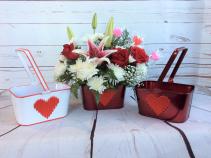 Love & Lilies Rose Arrangement