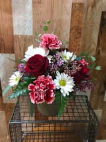 Bucket of love Arrangement