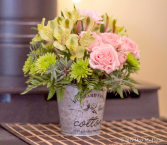 Bucket of Love Floral Arrangement