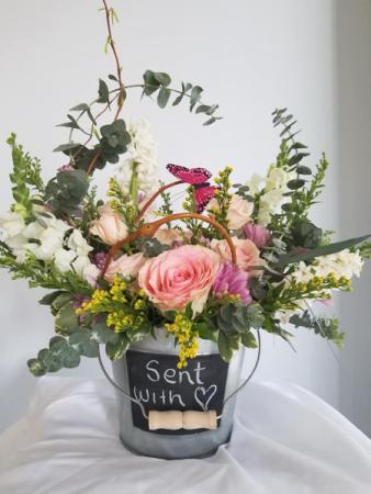 Bucket of Love Floral Design