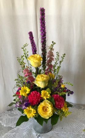 Bucket of Sunshine  in West Monroe, LA | ALL OCCASIONS FLOWERS AND GIFTS
