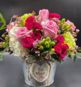 Buckets of Love Fresh Arrangement