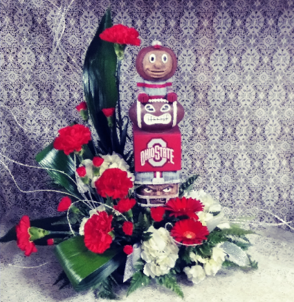 Buckeyes Tiki Floral Design