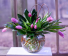 Bubble Bowl Tulips