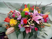 Buds, Blooms and Branches centerpiece