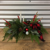 Buffalo Plaid CENTERPIECE